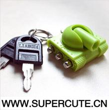 2015 hot new product mini screwdriver set in tank design key chain