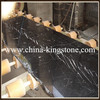 Chinese popular nero marquina marble honed (Direct Factory Good Price )