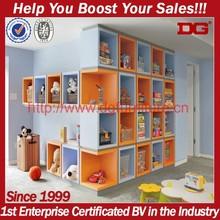 Retail store wood display furniture design car giraffe toy shelf