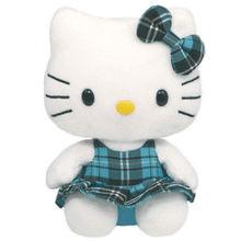 ICTI 2015 Newest Cute Hello Kitty Baby Birthday Gift Plush Toy Blue