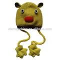 Custom-made engraçado ANIMALWINTER bebê chapéu de tricô padrão