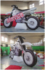 2014 best selling advertising inflatable Replicas motorcycle