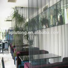 metal restaurant partitions, decorative divider for hotel