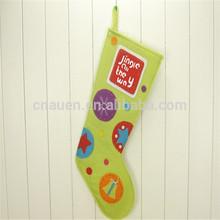 colorful comfortable christmas stocking,christmas hanging ornament