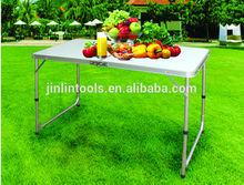 folding garden table, aluminium warehouse work tables