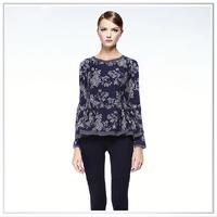 Customized 2014 new design digital printing 100% wool fabric
