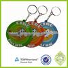 Fashion Custom souvenir items 3D PVC Cute Shape dubai keychains