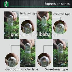 Acrylic feeding trough facial expression series feeding troughs for a fish
