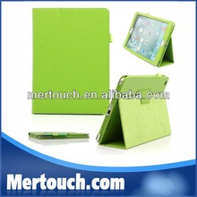 New arrival hot for ipad 5 smart cover leather flip case for ipad air