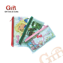 pvc cartoon pencil bag for kids