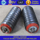 Rubber ring type conveyor impact roller machinery and conveyor spare parts