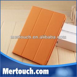 Foldable Flip leather cover for ipad mini smart covers