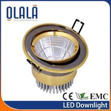2014 Top Quality High Lumen CE ROHS COB 5w led downlight
