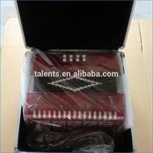 31button 12bass chromatic button accordion/GCF tone button accordion