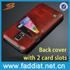 Noble leather case for samsung s5 cover case with card slot