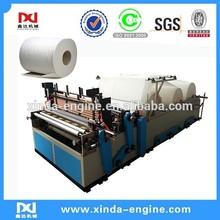 Paper Embossing Machine Type industrial toilet paper roll machine,rewinding toilet tissue converting machine SPB
