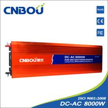 8000w car 12v battery inverter