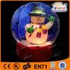 Customized high quality christmas inflatable snow globe