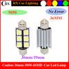 C5W Canbus 36MM 5050 6SMD Ruixin Car Led Festoon Auto Led Car Light 12V