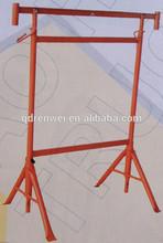 saddle steel pipe vertical fall/floor solid wheel