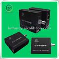 prolongateur ethernet pour les caméras ip sur câble coaxial à longue portée de transmission 2km