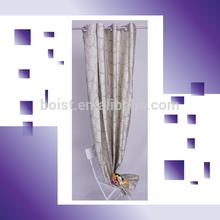 100% Polyester random circle pattern yarn dye window curtain