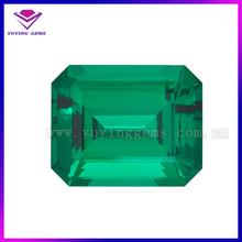 Green glass stone/emerald stone price/emerald price per carat