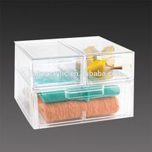 wholesale clear acrylic shoe display case, cloth storage box