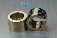 Johnson metall standard JM7-15 material white graphite oiles sleeve bushing CNC machining brass bushing