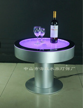 Amazing Led Bar Table ,Fantastic LED light and water Bubble moving table