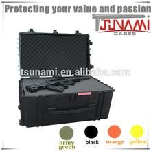 Waterproof IP67 Heavy Duty Case Shockproof Injection Molded Case Plastic Outdoor Case with Foam Insert