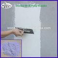 décor à la maison avec mastic poudre de mur blanc