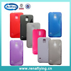 attractive candy color tpu back cover case for samung galaxy s5
