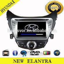 HANOSVOR double din car stero for hyundai elantra dvd player gps navigation