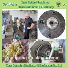 Roasted corn flakes machine / corn flakes production line