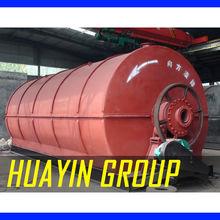 Sludge Oil to Diesel Refine Plant Huayin Latest Pyrolysis Technology