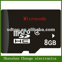 High quality real capacity factory price micro sd 8gb for RC toy
