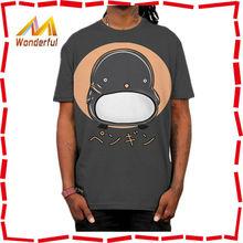 The unisex blouse black printing t-shirt new design high fashion most popular