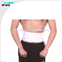 Adjustable Lumbar Back Brace, Black, Plus Size, 1-Count Package Waist Trimmer Back Injury Pain Support Brace Sport Belt Trimming