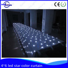 Wholesale - Top quality- 4X6m White Color Led Star Cloth Curtain for CE or ROHS