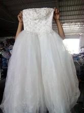 guangzhou used wedding dress clothing