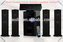 Nice private design 5.1ch design box speaker sound system DM6515
