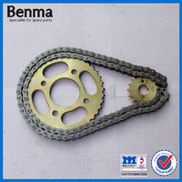 factory direct sell motorcycle chain and sprocket sets bracelet with cheap price for your choice
