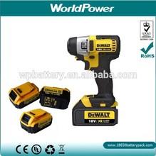 high performance li-ion accu pack 18V 3Ah power tool battery for DeWALT