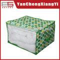 La cama no tejida edredones/cobijas almacenamientodebolsas/brillantes pintado bolsa de almacenamiento