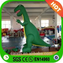 green lovely inflatable dinosaur moving cartoon , inflatable cartoon figures Type giant green inflatable godzilla