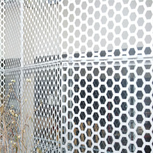 exterior decorative Perforated Metal Mesh Type perforated metal panels (china factory)