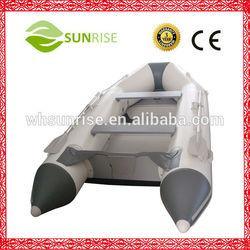 290 Rigid PVC Boat Inflatable With Aluminum Floor