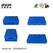 plastic folding box/ container/ crate/tote