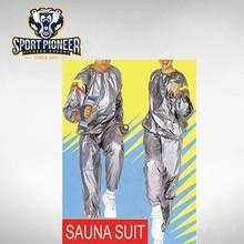 Men's Sweat Sauna Suit with Reflective Stripes